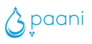 Paani blue and white